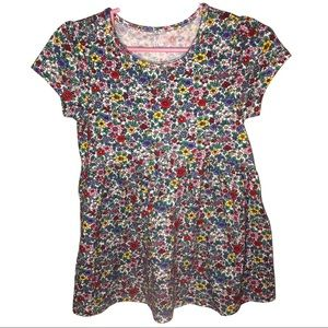 3/$25 🍄 GAP Girl's Summery Floral Dress Size 5T